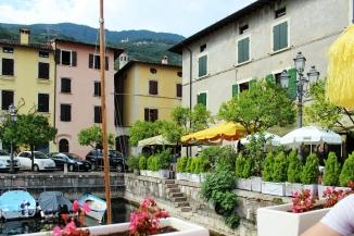 Lake port in Gargnano