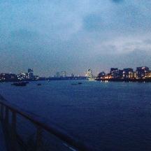 London seen from Greenwich