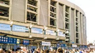 Camp Nou - outside