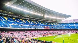 Camp Nou - inside